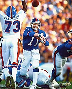 Phil Simms New York Giants 8x10 Sports Action Photo (xlt)