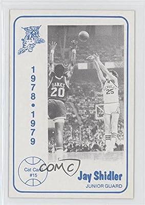 Jay Shidler (Basketball Card) 1978-79 Foodtown University of Kentucky Wildcats - [Base] #15