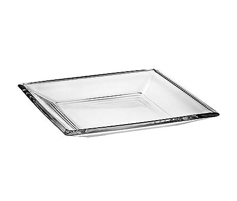 Amazon.com: Barski - Bandeja de cristal para centro de mesa ...
