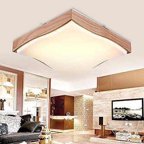 JJ moderna lámpara de techo LED de luz tenue luz de techo en ...