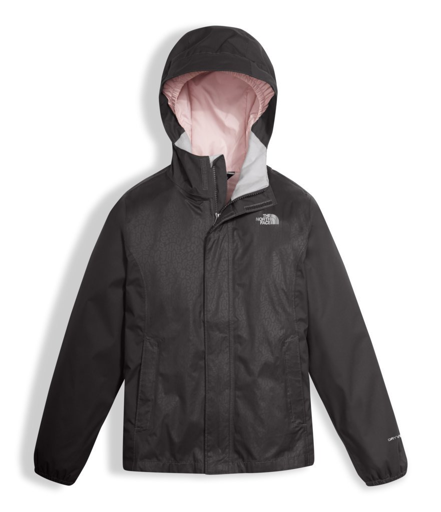 The North Face Girl's Women's Resolve Reflective Jacket - Graphite Grey - 2XS (Past Season) by The North Face