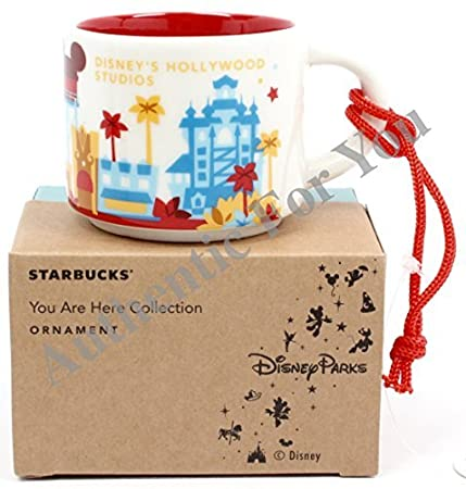 FREE GIFT Disney Starbucks Hollywood Studios Mini Mug Ornament Been There Park