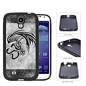 Eagle And Snake Aztec Grunge Rubber Silicone TPU Cell Phone Case Samsung Galaxy S4 SIV I9500