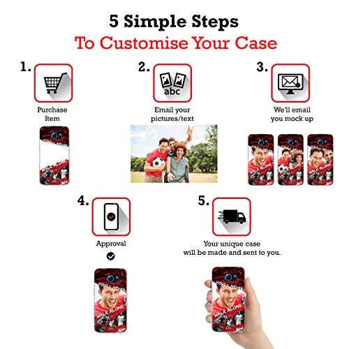Coutume Personnalisé Nous Sommes Liverpool Liverpool FC Étui Coque En Gel Pour Apple iPhone 5 / 5s / SE