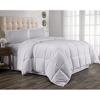 Queen Comforter, Year Round Down Alternative Comforter, Duvet Insert, Fluffy ,Warm , and Soft by Hanna Kay (Queen)