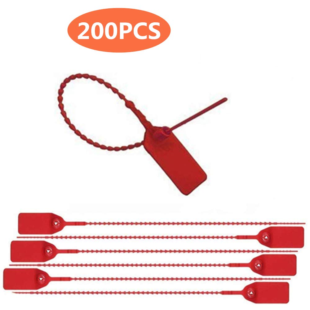 Package of 200 Red Pull-Tite Security Seal