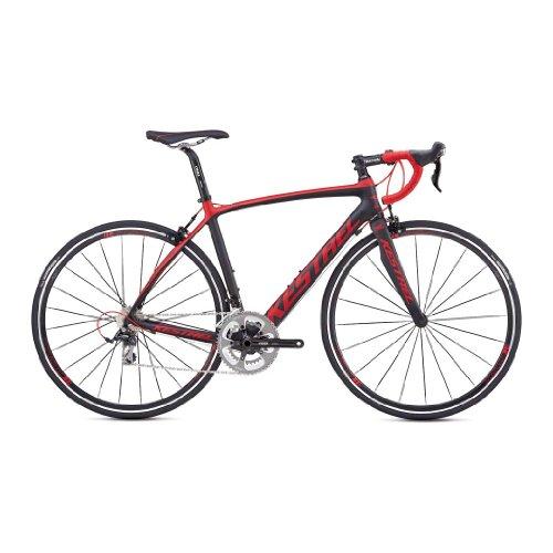 Kestrel Legend Shimano 105 Bicycle, Matte Carbon/Red, Medium (55cm)