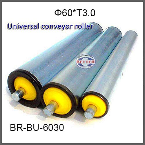 Fevas Diameter 60 Thickness3.0mm, Light and Medium Loading Conveyor Roller Conveyor Idler