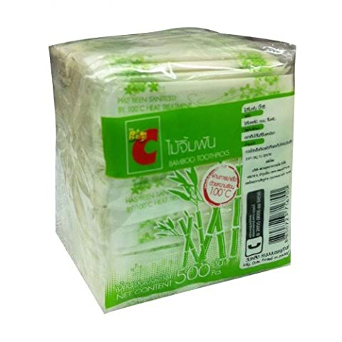 Toothpick Bamboo (500pcs) - Victorinox Replacement Toothpick