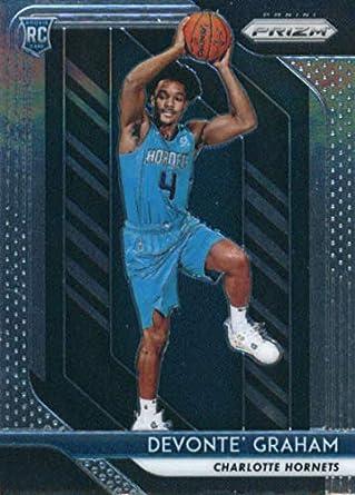 9e98fa7dd60c 2018-19 Panini Prizm  288 Devonte  Graham Charlotte Hornets Rookie  Basketball Card