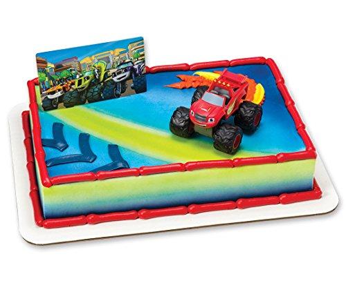 Blaze & The Monster Machines Cake Topper