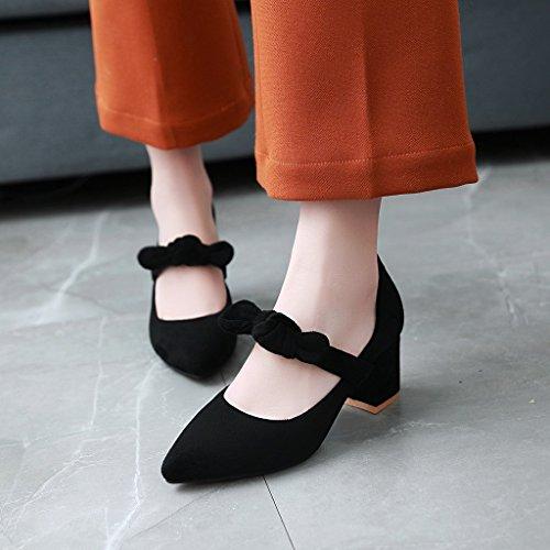 della Alla black luce femminile con con dimensione molla il la scarpe luce singolare ggpW54qx