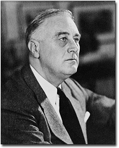 (Portrait of Franklin D Roosevelt 1946 8x10 Silver Halide Photo Print)