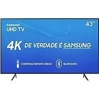 """TV Smart 4K 43"""" UN43RU7100 Bluetooth, Samsung, 43RU7100"""