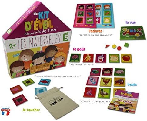 Multimedia Discount FR Juego educativo Kit maternal de vigilia ...