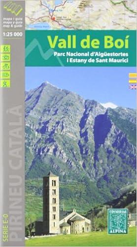 Vall De Boí, Mapa Excursionista. Escala 1:25.000. Español, Català. English. Editorial Alpina. Descargar PDF