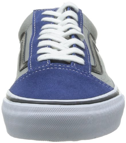 Vans Adulte Basses Skool Bleu Canvas Suede Chaussures Mixte Old U pnrqvp