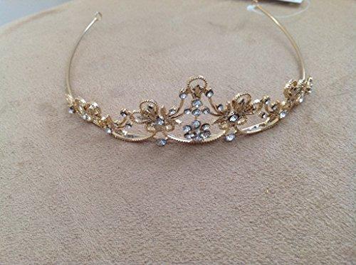 gold bridal tiara style# GRBG