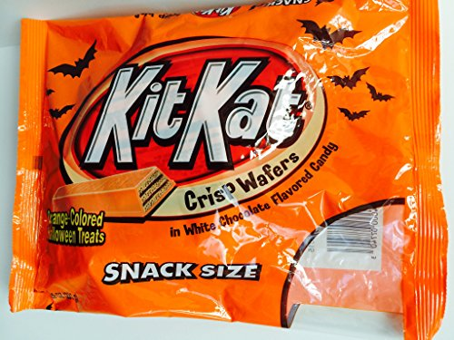 Kit Kat Orange-Colored Halloween Treats Snack Size Candy, 10.29 (Halloween Kit Kats)