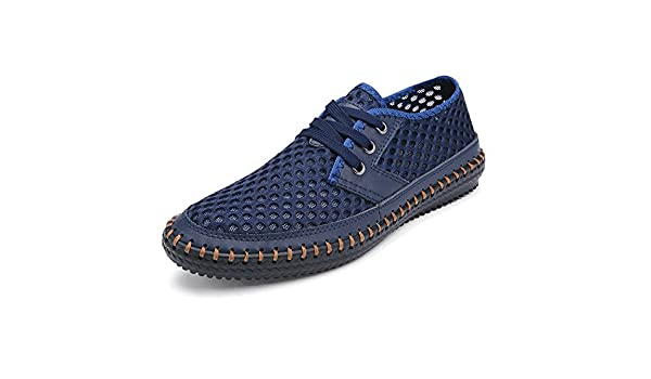 HYJ Mens Casual Shoes Lightweight Lace Up Hiking Shoes Plus Size 12 13