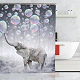 Fishing Net Shower Curtain Chengsan Unique and Generic Pearls Star Fish sea Shell Shower Curtain,71