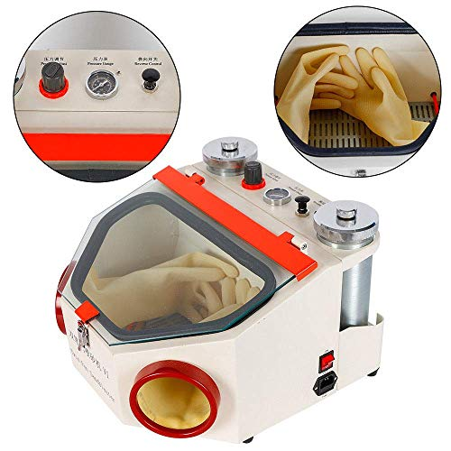 Aries Outlets Dental Lab Sandblaster with 2 Pen + 2