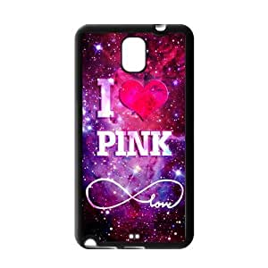 Space Nebula Universe Love Pink Protective Gel Rubber Back Fits Cover Case for SamSung Galaxy Note 3