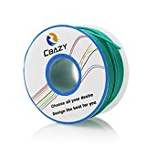 CBAZY™ Hook up Wire (Stranded Wire) 22 Gauge Flexible Silicone Wire 22AWG 25M (82 Feet) Electrical Wire Green