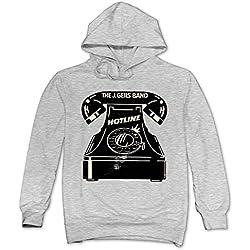 XJBD Men's TheJ.GeilsBand Sweater Ash Size L