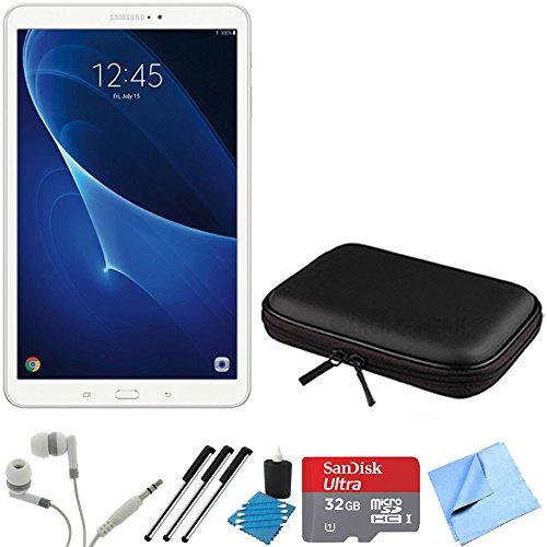 Price comparison product image Samsung Galaxy Tab A 9.7-Inch Tablet (16 GB,  Smoky Titanium) 32GB Memory Card Bundle