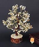 Crocon Citrine Gemstone Money Tree Feng Shui Bonsai