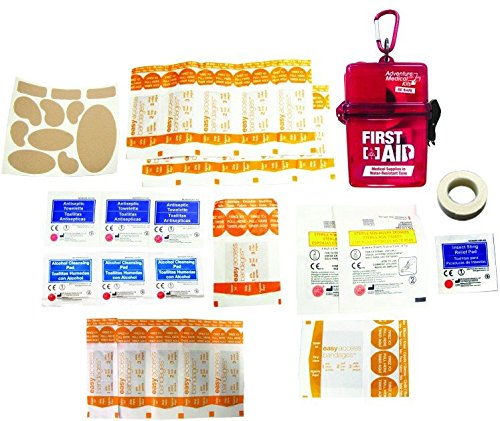 (Adventure Medical Kits Adventure First Aid, Water-Resistant First Aid Kit, 0.18 Pound)