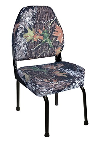 Wise Outdoors WD304-763FLD Hunting Blind Seat Combo with Folding Seat Stand & Swivel, Mossy Oak Break-Up Camo by Wise (Image #1)