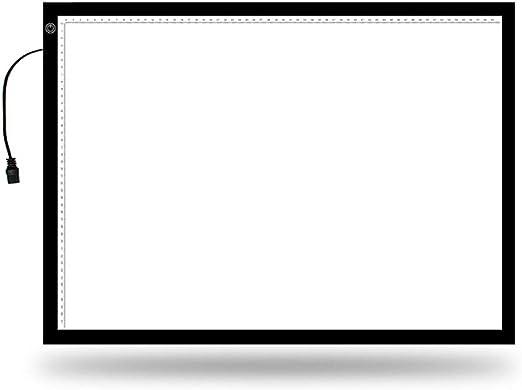 Madeinely Rastreo de Caja de Luz Dibujo Caja portátil de luz Led Light Board hasta A2