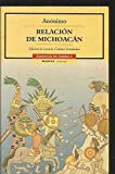 img - for Relacion de Michoacan (Cronicas De America) by Antonio de Ulloa (2002-06-30) book / textbook / text book