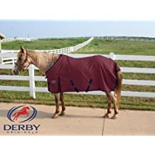 Canvas Blanket 18 Oz with Polar Fleece Lining & Gussets By Derby Originals