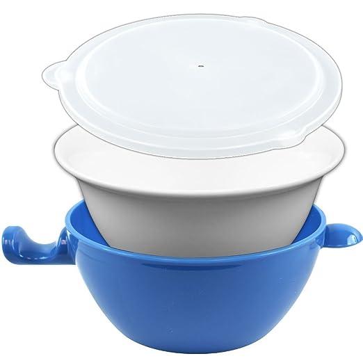 Práctico Gourmet tacto frío apta para microondas bol, 3 ...