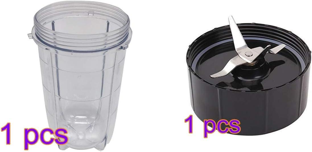 eshopcity - Juego de vasos y cuchillas de repuesto para licuadora ...