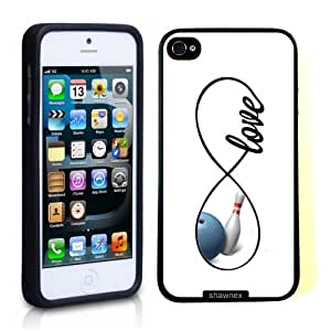 SudysAccessories Bowling Love Bowling Infinity Love Thinshell Case Protective iPhone 5 Case iPhone 5S Case