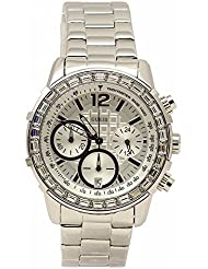 GUESS Womens U0016L1 Dazzling Sport Chronograph Watch