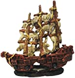 MYSTERY PIRATE SHIP AQUARIUM ORNAMENT