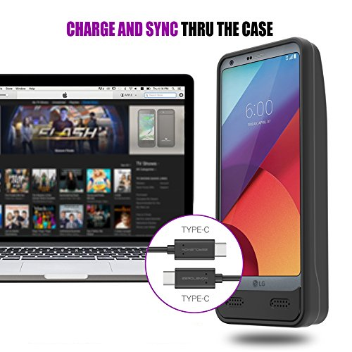 huge discount 139b6 26305 LG G6 Battery Case, ZeroLemon Ultra Power 8000mAh Extended Battery ...