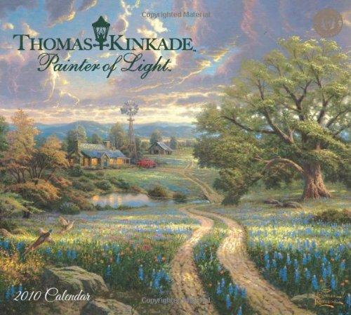 Thomas Kinkade Painter of Light 2010 Calendar