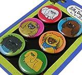 Pekingese Silly Dog Magnet Set of 6