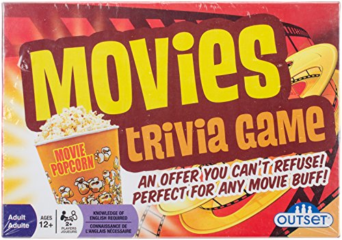 Cobble Hill Movies Trivia Game (1 Piece) ()
