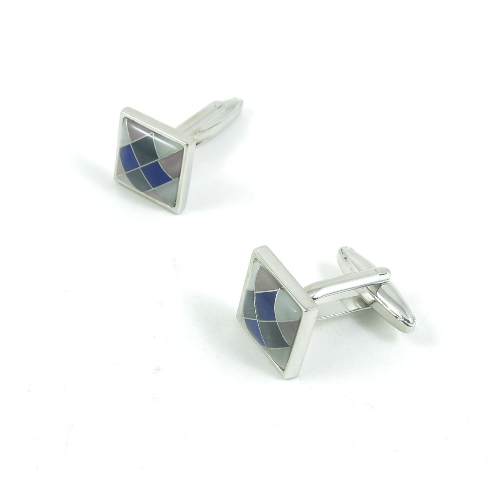 5 Pairs Cufflinks Cuff Links Classic Fashion Jewelry Party Gift Wedding 930316 Grid Square