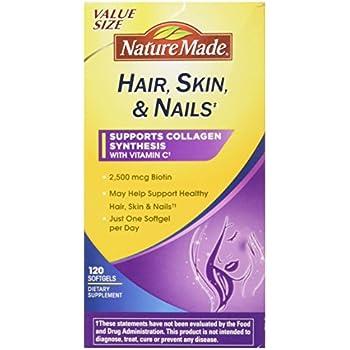Amazon.com: One Source Hair, Skin & Nails Multi, 60ct: Health ...