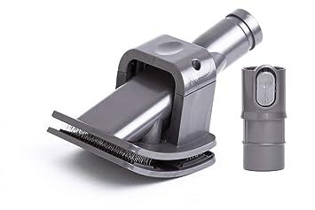 Cepillo Groomer para el cuidado de mascotas con Adaptador para las aspiradoras Dyson. Reemplaza a 921001-01, 912270-01. Producto genuino Green Label