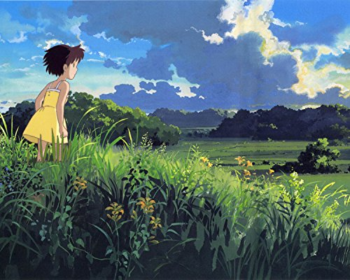 Totoro My Neighbor Totoro Poster Anime Japan Hayao Miyazaki Cute Movie Animation Art