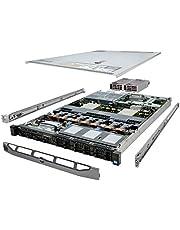 Dell PowerEdge R620 Server 2X E5-2667 2.90Ghz 12-Core 64GB 2X 300GB H710 Rails (Renewed)